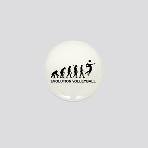 Evolution Volleyball Mini Button