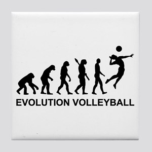 Evolution Volleyball Tile Coaster
