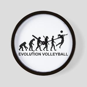 Evolution Volleyball Wall Clock