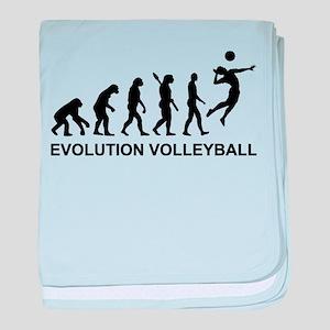 Evolution Volleyball baby blanket