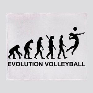 Evolution Volleyball Throw Blanket