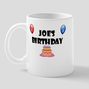Joe's Birthday Mug