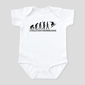 Evolution Snowboarding Snowboard Infant Bodysuit