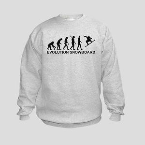 Evolution Snowboarding Snowboard Kids Sweatshirt