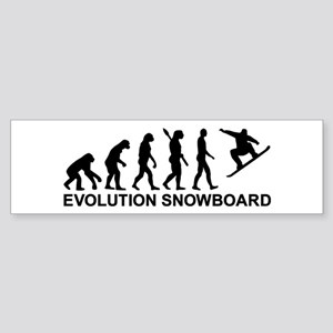 Evolution Snowboarding Snowboard Sticker (Bumper)