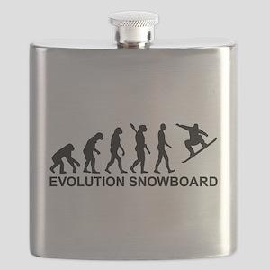 Evolution Snowboarding Snowboard Flask