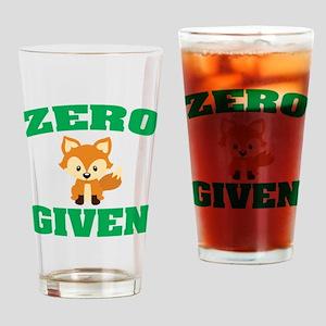 Zero Fox Given Drinking Glass