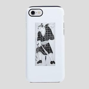 Otsu-e of Kabuki Actor Playing iPhone 7 Tough Case