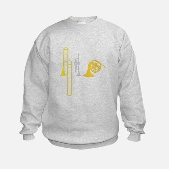 Brass Instruments Sweatshirt