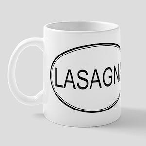 LASAGNA (oval) Mug