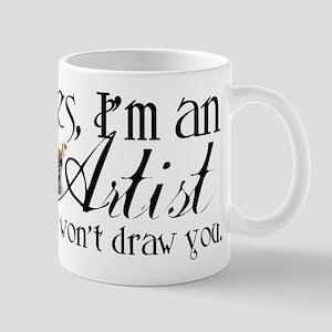 Artist Pet Peeve Mugs