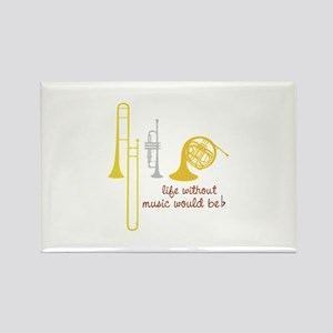 Life Without Music PGbn01117b Magnets