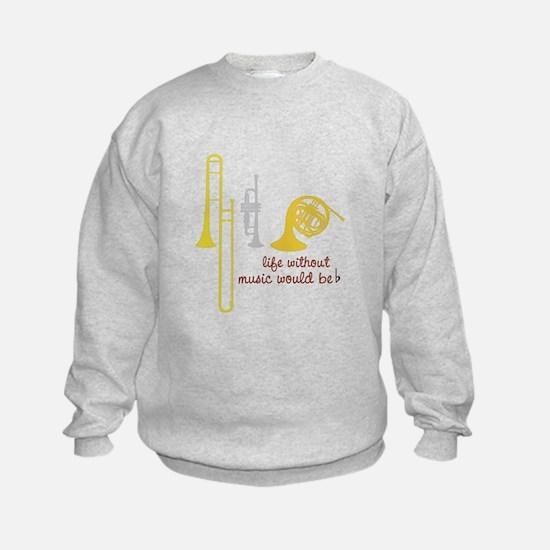 Life Without Music PGbn01117b Sweatshirt