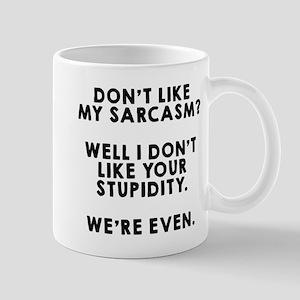 We're Even Mug