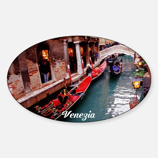 Gondolas in Venice Decal