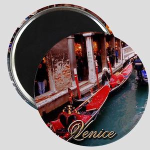 Gondolas in Venice Magnets