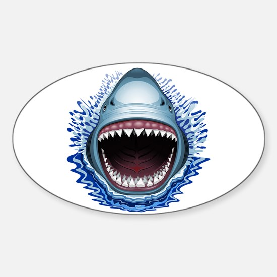 Shark Jaws Attack Decal