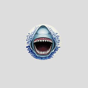 Shark Jaws Attack Mini Button