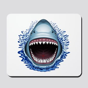Shark Jaws Attack Mousepad