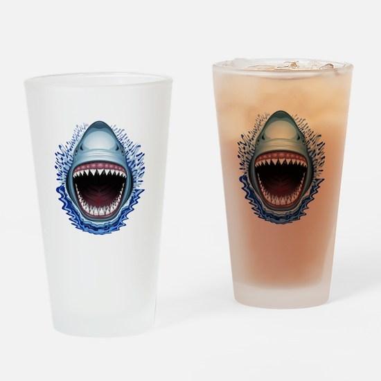 Shark Jaws Attack Drinking Glass