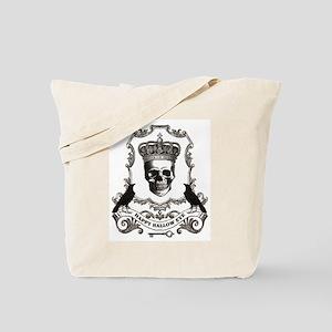 modern vintage Halloween skull Tote Bag