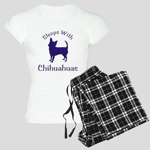 Sleeps With Chihuahuas 111 Women's Light Pajamas