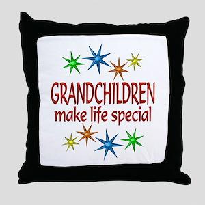 Special Grandchildren Throw Pillow