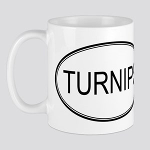 TURNIPS (oval) Mug