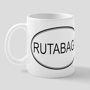 RUTABAGA (oval) Mug