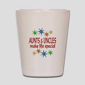 Special Aunt Uncle Shot Glass
