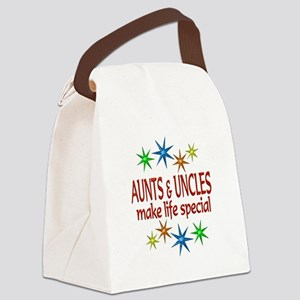 Special Aunt Uncle Canvas Lunch Bag