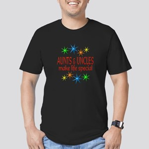 Special Aunt Uncle Men's Fitted T-Shirt (dark)