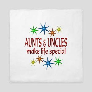 Special Aunt Uncle Queen Duvet
