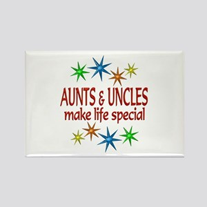 Special Aunt Uncle Rectangle Magnet