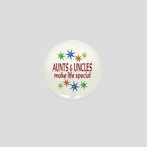 Special Aunt Uncle Mini Button