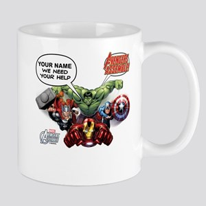 Avengers Assemble Personalized Design 1 Mug