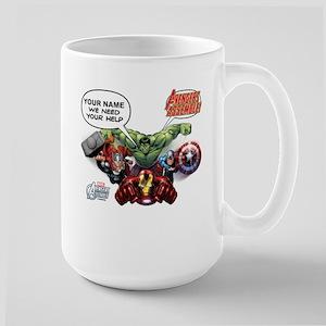 Avengers Assemble Personalized Design 1 Large Mug