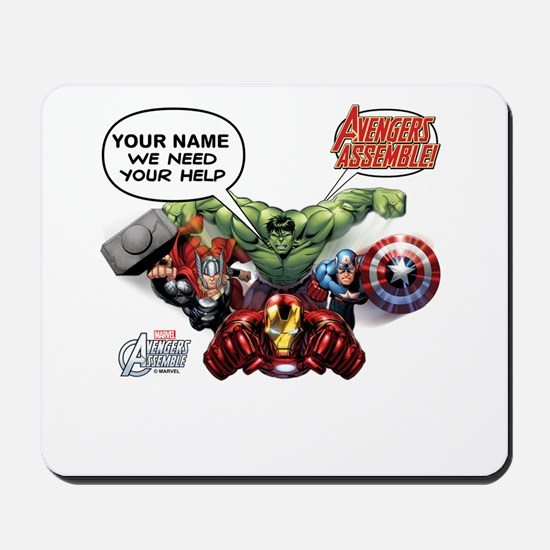 Avengers Assemble Personalized Design 1 Mousepad