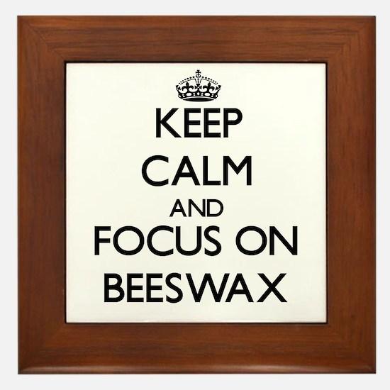 Cute Beeswax Framed Tile