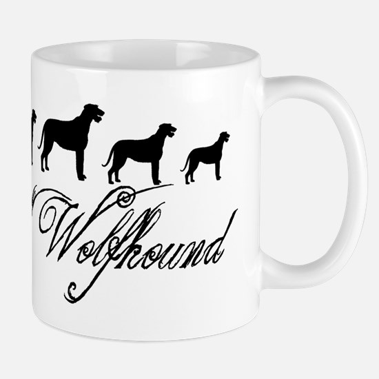Irish Wolfhounds Mugs