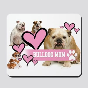 English Bulldog Mom Mousepad