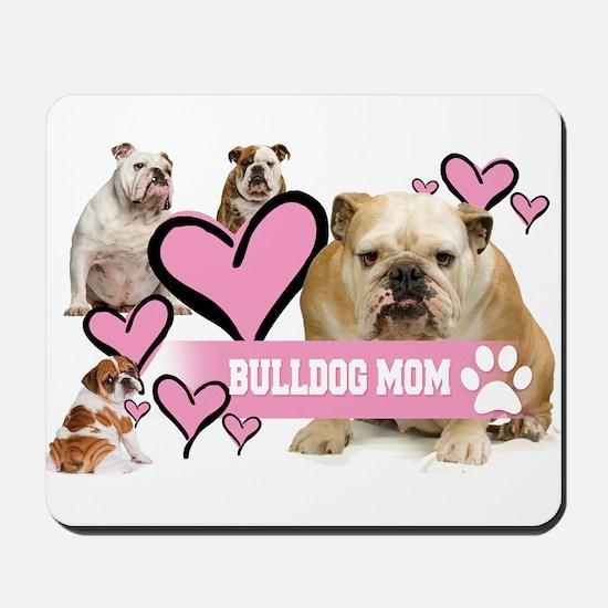 English Bulldog Mom Mousepad