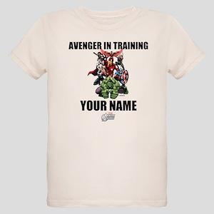 Avengers Assemble Personalize Organic Kids T-Shirt