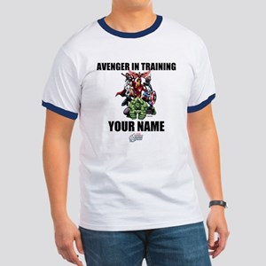 Avengers Assemble Personalized Design 2 Ringer T