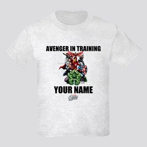 Avengers Assemble Personalized Kids Light T-Shirt