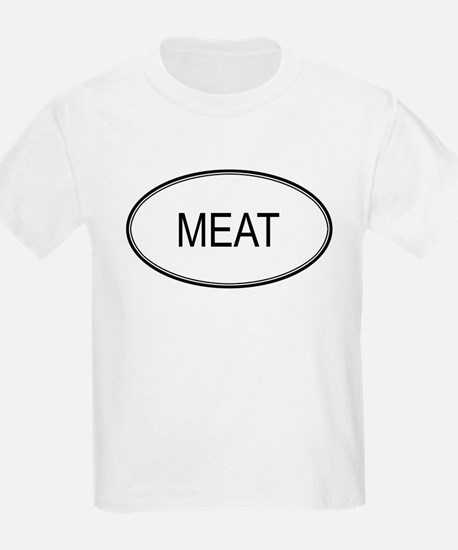 MEAT (oval) T-Shirt