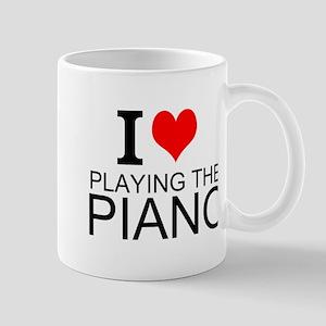 I Love Playing The Piano Mugs