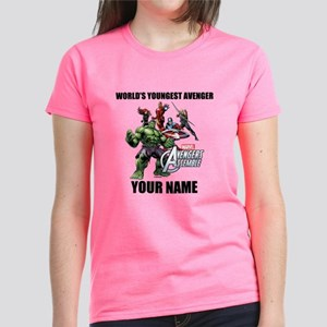 Avengers Assemble Personalize Women's Dark T-Shirt