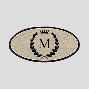 Custom Initial Logo Monogrammed Patches
