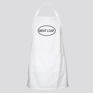 MEAT LOAF (oval) BBQ Apron